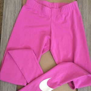 High  waisted lavender Nike leggings size : xs